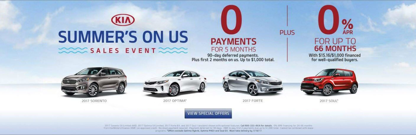 Summer's On Us sales event Milwaukee WI 2017 Optima Forte Soul