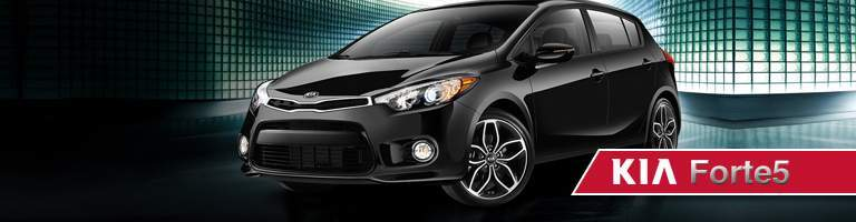 2018 Kia Forte5 black side view