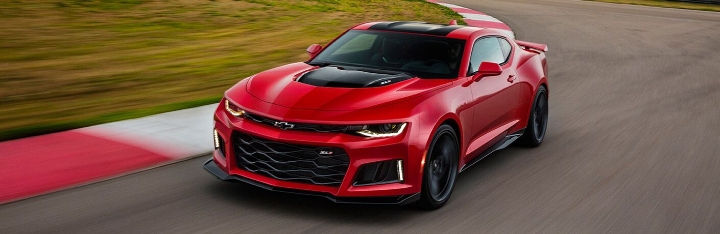Red Chevy Camaro