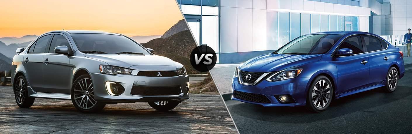 2017 Mitsubishi Lancer vs 2017 Nissan Sentra