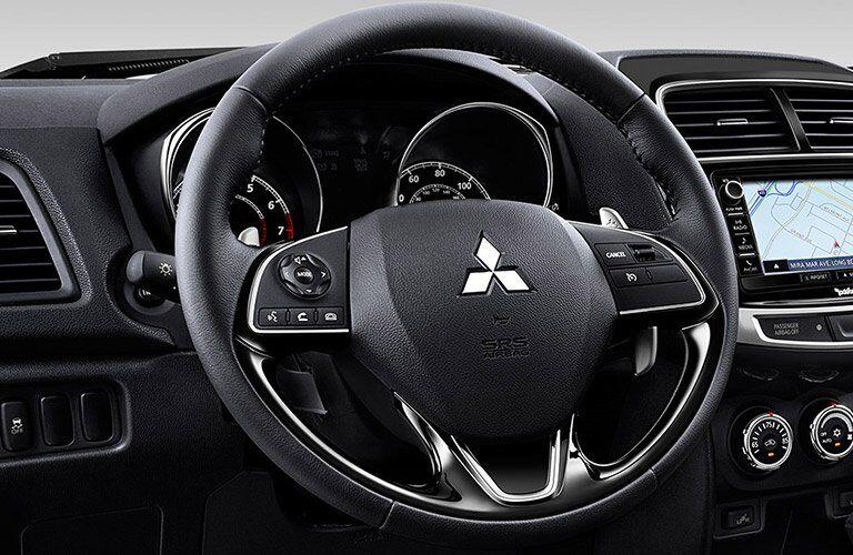 El volante del 2017 Mitsubishi Outlander Sport
