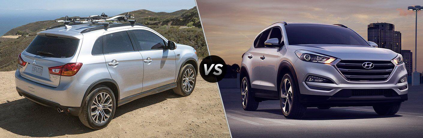 2017 Mitsubishi Outlander Sport vs 2017 Hyundai Tucson