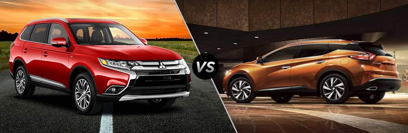 2017 Mitsubishi Outlander vs 2017 Nissan Murano