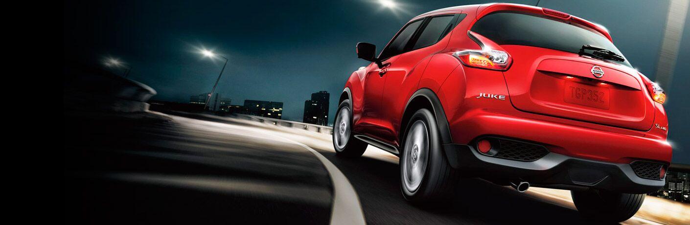 Nissan Juke rojo
