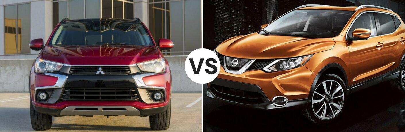 2017 Mitsubishi Outlander Sport vs 2017 Nissan Rogue Sport