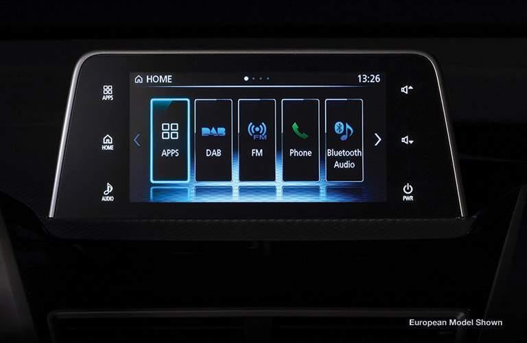 El sistema de información y entretenimiento del Mitsubishi Eclipse Cross del 2018