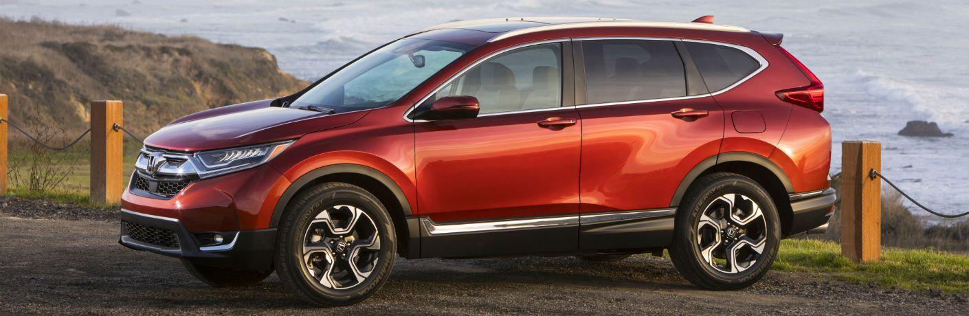 Honda CR-V rojo