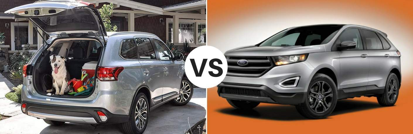 Mitsubishi Outlander 2018 vs Ford Edge 2018