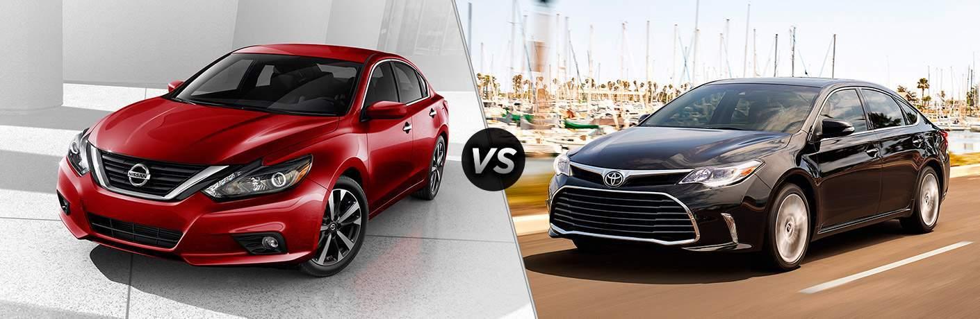 2018 Nissan Altima vs. 2018 Toyota Camry