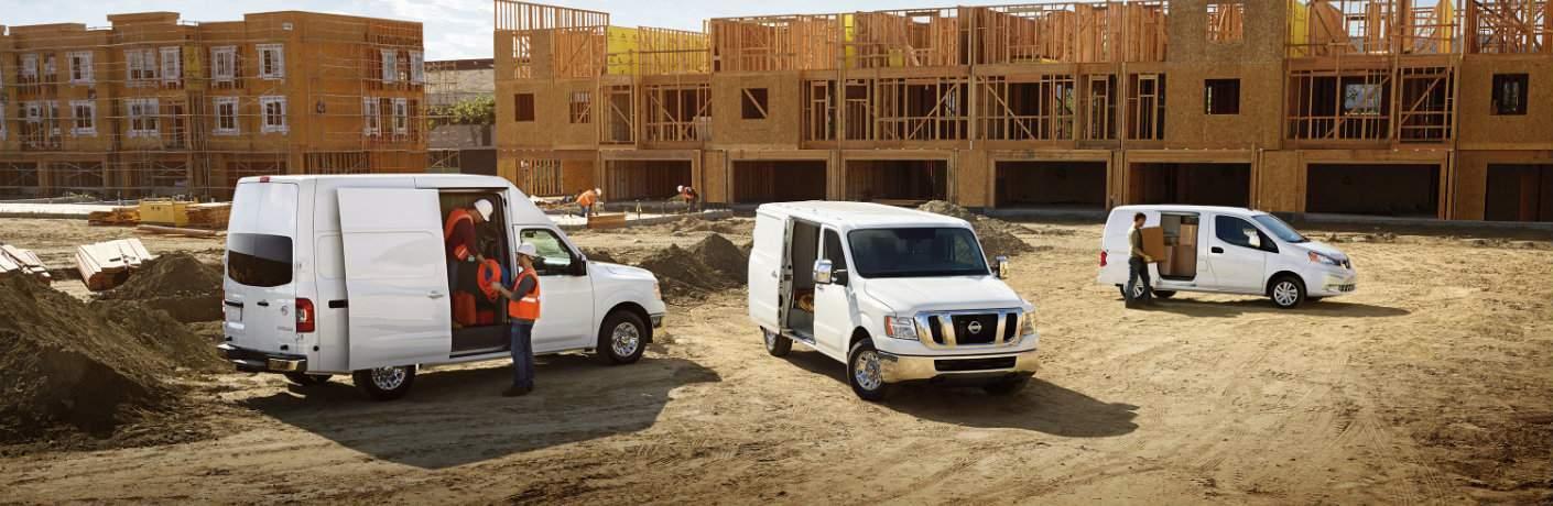 2017 Nissan NV Cargo Van configurations