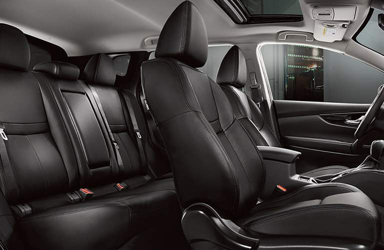 Seats in the 2018 Nissan Rogue