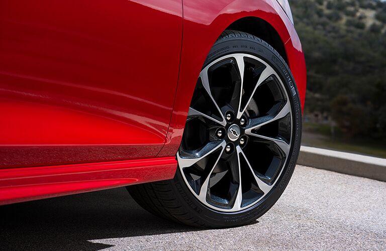 2019 Chevy Cruze exterior close up of wheel