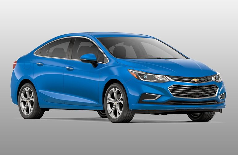2019 Chevy Cruze exterior front fascia and passenger side