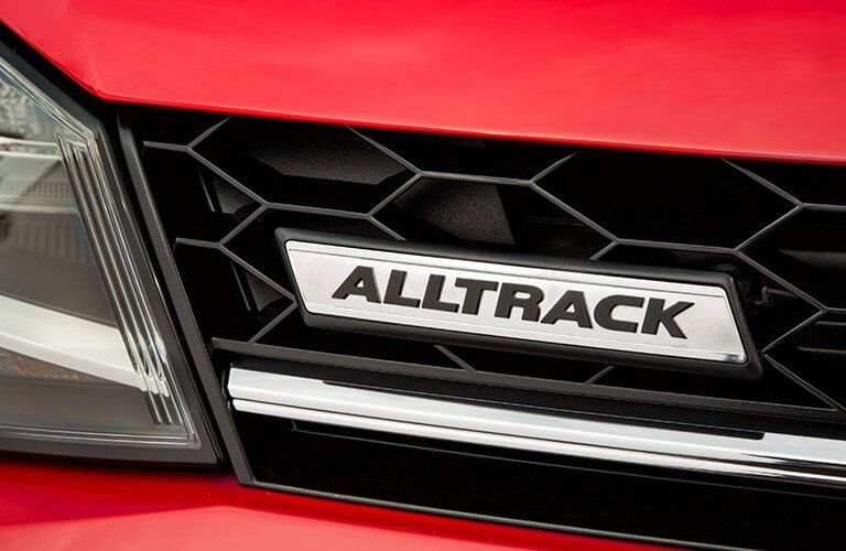 2017 Volkswagen Golf Alltrack name badge