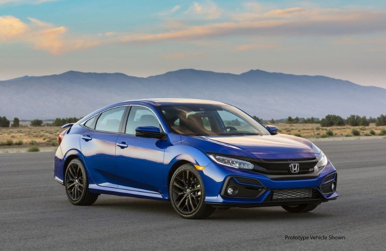2020 Honda Civic Si Sedan front view