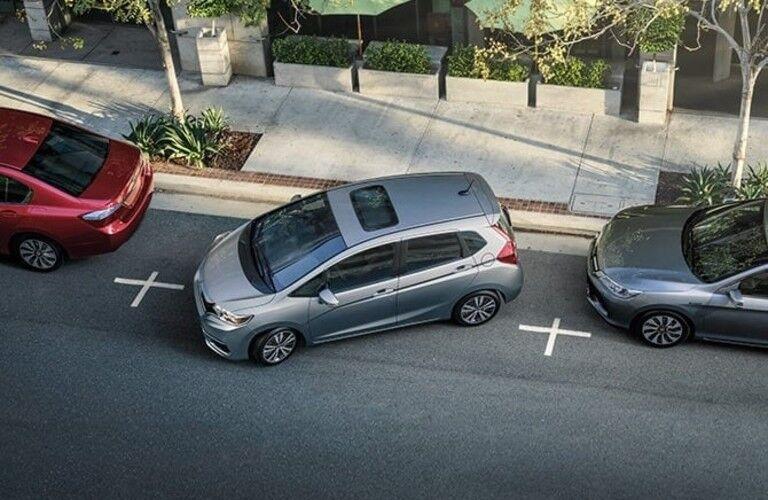 2020 Honda Fit parallel parking