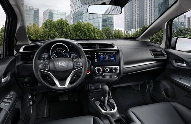 dashboard in the 2020 Honda Fit