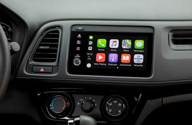 2020 Honda HR-V Sport entertainment center an Apple CarPlay