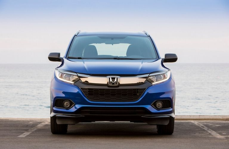 2020 Honda HR-V Sport in front of the water from exterior front