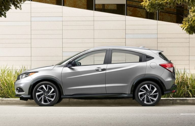 2020 Honda HR-V from the exterior drivers side