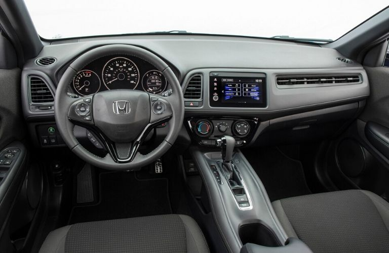 2020 Honda HR-V view of front dash from the interior