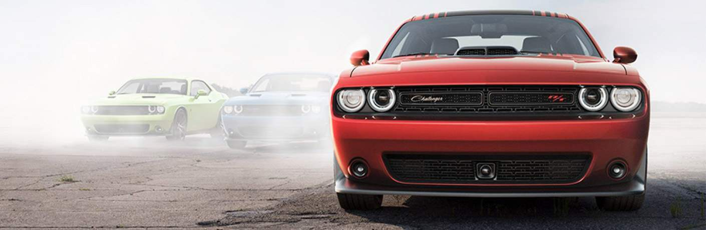 2017 Dodge Challenger Exterior and Interior Color Options