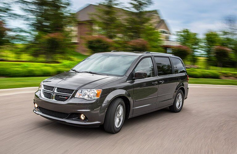 2017 dodge grand caravan in gray