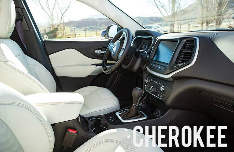 2017 jeep cherokee interior design
