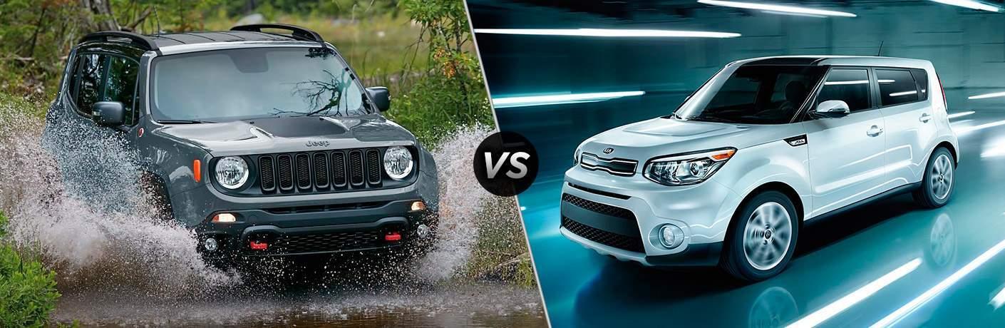 2017 Jeep Renegade vs 2017 Kia Soul