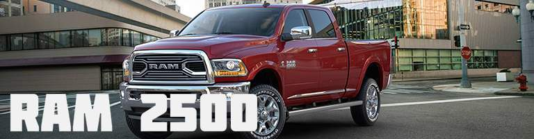 2018 Ram 2500 red front view