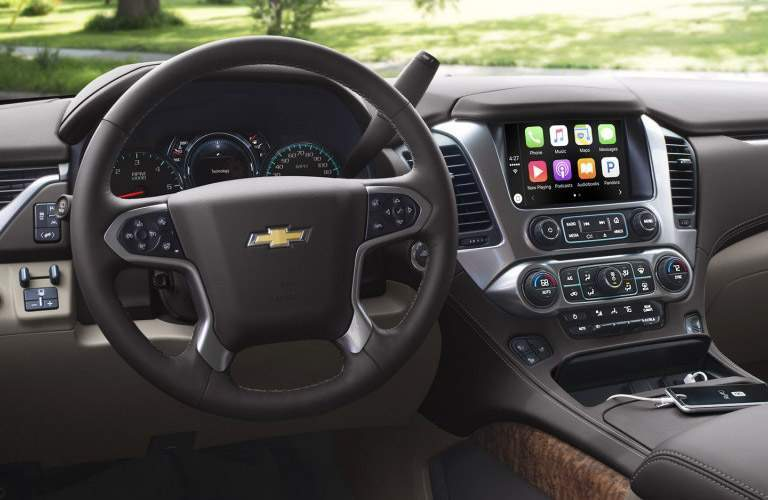 2017 suburban infotainment screen