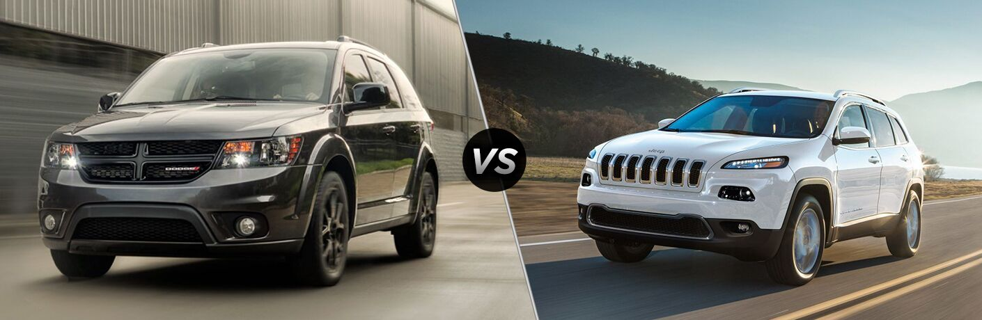2018 dodge journey vs 2018 jeep cherokee