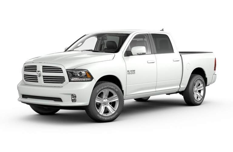 2018 RAM 1500 Sport from the front