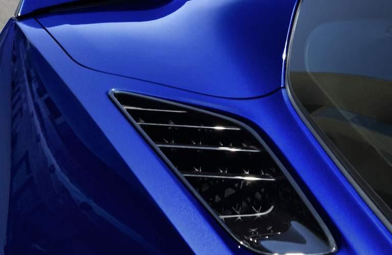 2018 Chevy Corvette Stingray vents
