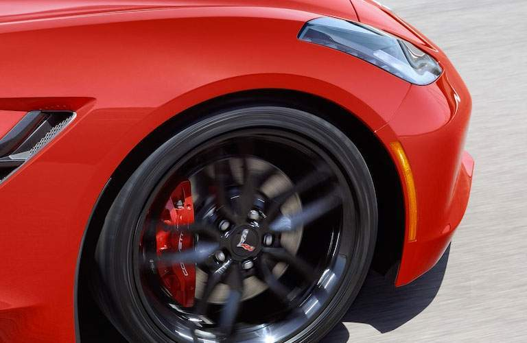 2018 Chevy Corvette Stingray wheel design