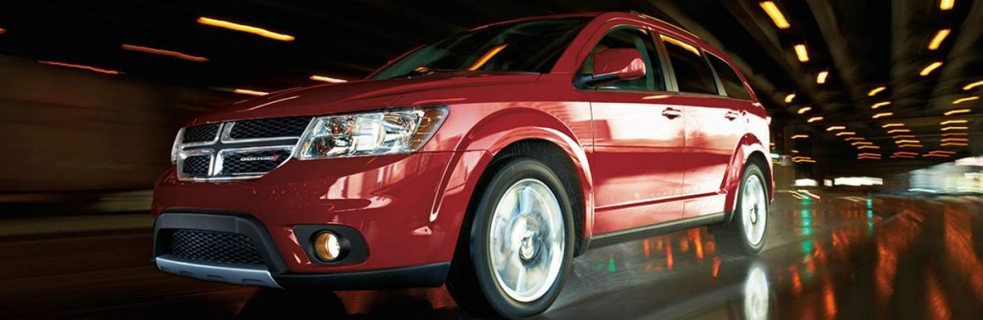 2018 dodge journey in red