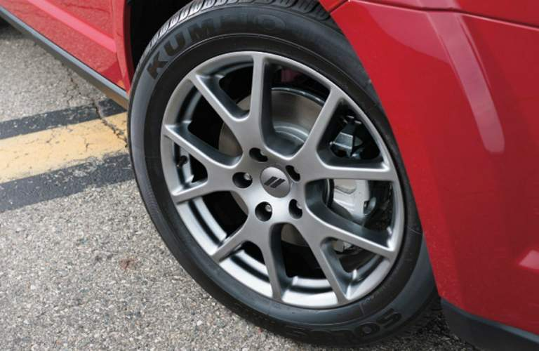 2018 dodge journey wheel design