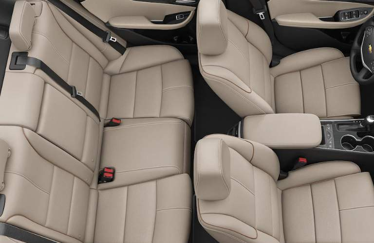 2018 impala seating space