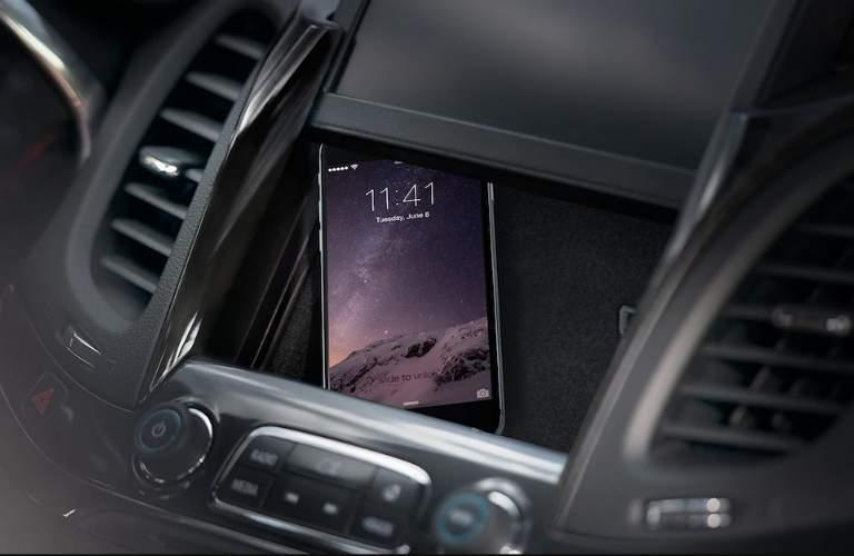 hidden cargo box in the 2018 chevy impala