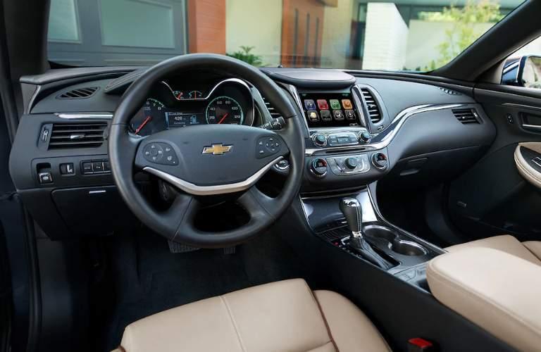 2018 impala dashboard layout