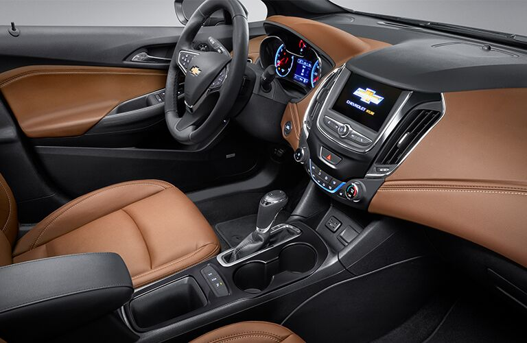 cockpit of 2019 cruze