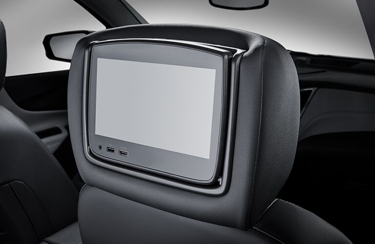 entertainment screen on back of seat in 2019 equinox