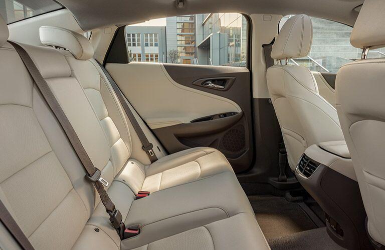 back seat of 2019 malibu