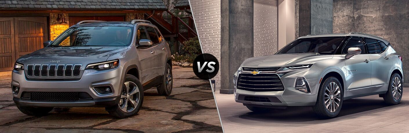 2019 cherokee compared to 2019 chevy blazer
