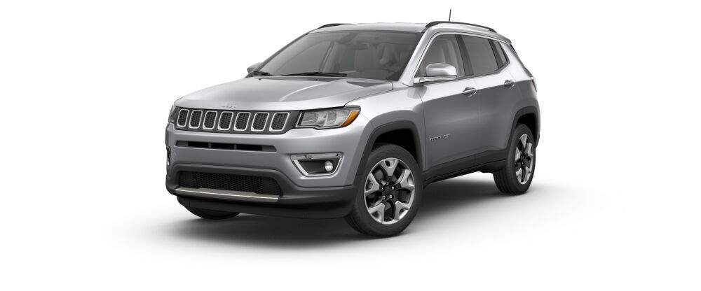 2017 jeep compass in bullet silver