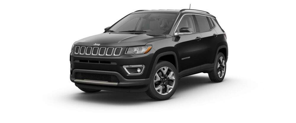 2017 jeep compass in diamond black