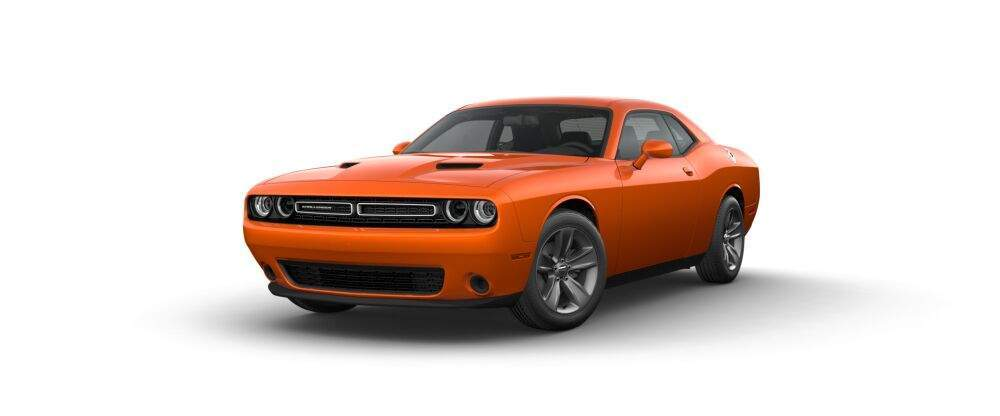 2017 Dodge Challenger in go mango