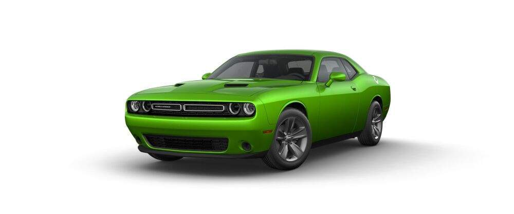 2017 Dodge Challenger in green go