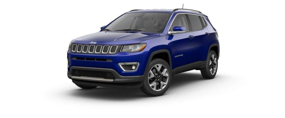 2017 jeep compass in jazz blue