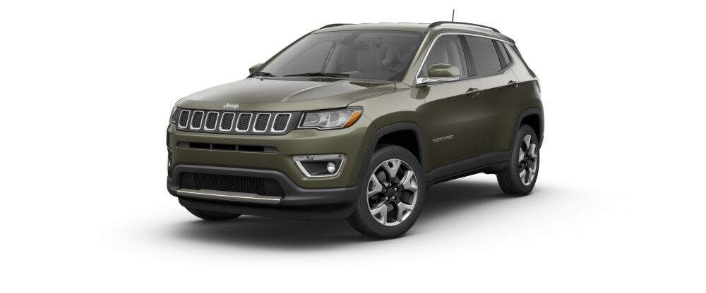 2017 jeep compass in olive green